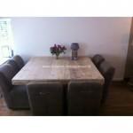 Vierkante Design Eettafel